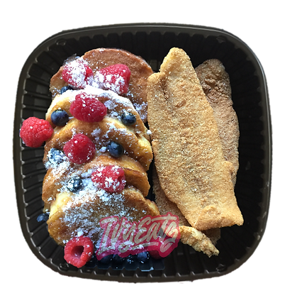 Fried Fish & French Toast Plate