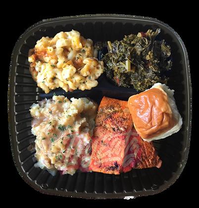 Salmon Soul Plate