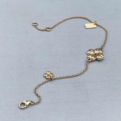 MY CLOVER - Bracelet, Yellow Gold Vermeil