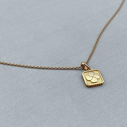 LUCKY INGOT - Pendant & Chain, Yellow Gold Vermeil