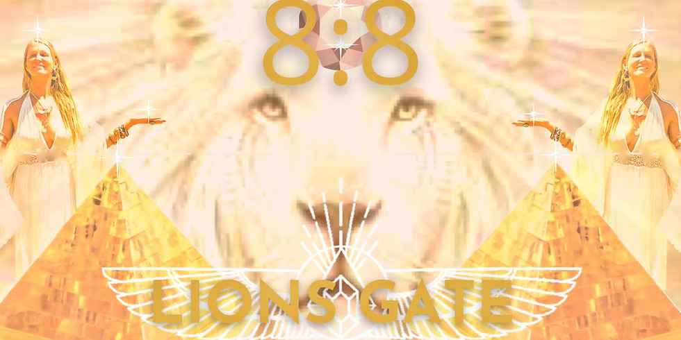 8:8 LIONS GATE PORTAL The Royal Codes Activation Ceremony - Online