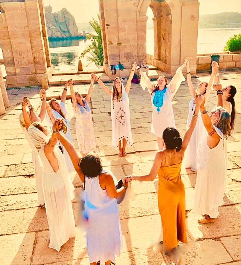 Sacred Temple of Light. The Priestess Community Events. Activations, initiations, circles and temples of the Moon. High priestess training, sound healing sisterhood groups divine feminine. Women empowerment the sisterhood divine.