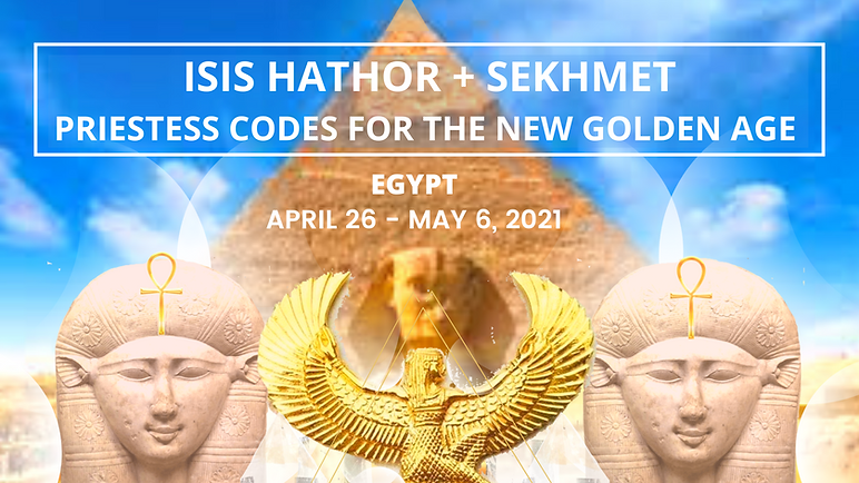 ISIS HATHOR + SEKHMET PRIESTESS CODES FO