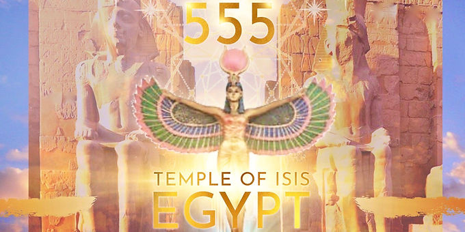 555 STARGATE PORTAL- 9D CODES ACTIVATION from the TEMPLE OF ISIS, EGYPT