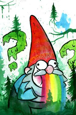 Vomiting Gnome