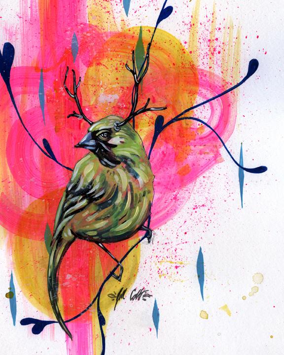 Antler Bird