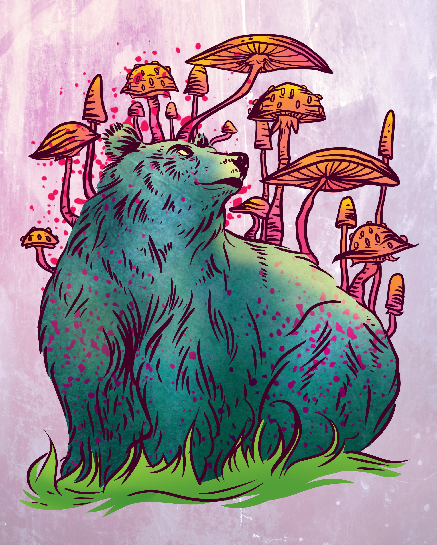 Mushroom Bear