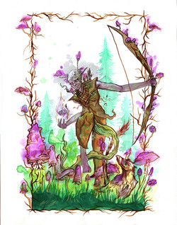 Drow Druid