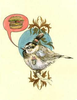 Cheeseburger Bird