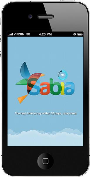 SABIA TRAVEL – APP DESIGN