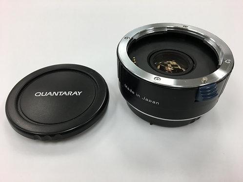 Quantaray 2X Series DG Autofocus Teleconverter for Canon