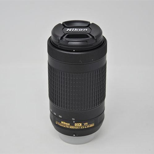 Nikon AF-P  NIKKOR DX VR 70-300mm f/4.5-6.3G ED Lens