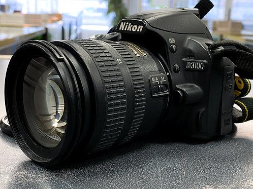 Nikon D3100 14.2MP DSLR w/ 18-70mm f/3.5-4.5G Lens
