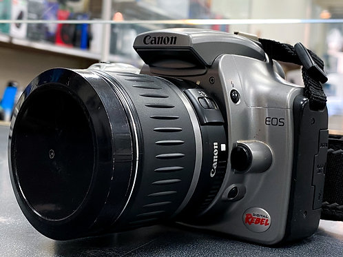 Canon EOS Rebel DSLR w/ 18-55mm lens