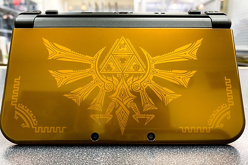 Nintendo New 3DS XL Gold Hyrule Edition