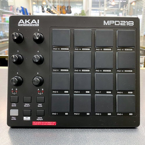 Akai MPD218 Pad Control Unit