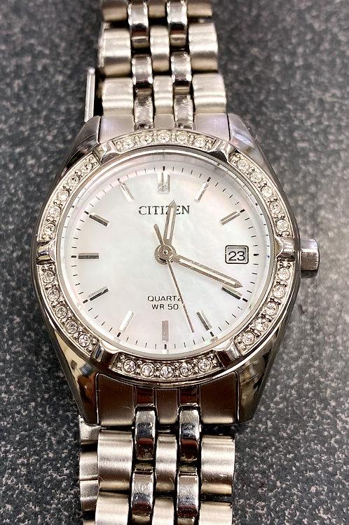 Citizen G011 23mmStainless Steel Quartz Women's Watch