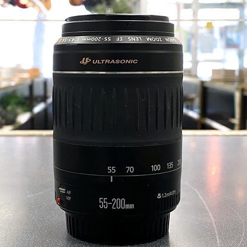 Canon EF 55-200mm f/4.5-5.6 II USM Telephoto Lens