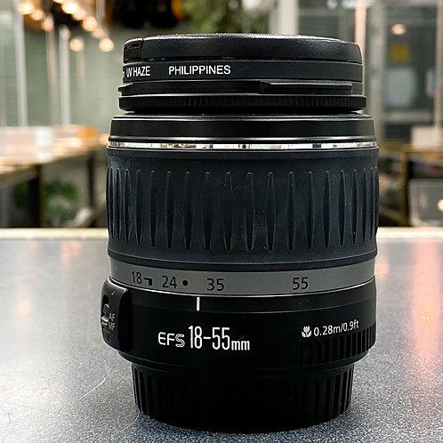 Canon EF-S 18-55mm 1:3.5-5.6 II Zoom Lens