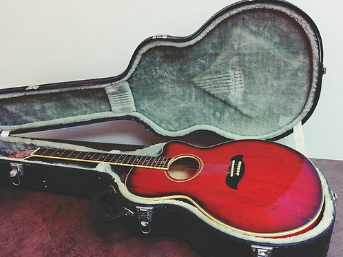 Aria Korea Pro2 FET DLX Acoustic Guitar +Hard Case (EXC.)