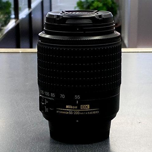 Nikon AF-S DX NIKKOR ED 55-200mm f/ 4-5.6G Lens