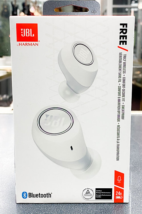 JBL Free In-Ear Sound Isolating Truly Wireless Headphones