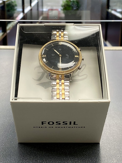 FossilHybrid Smartwatch HR Charter Two-Tone Stainless Steel