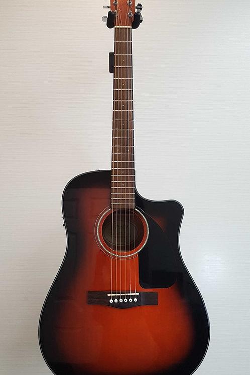Fender CD60CE Sunburst Acoustic Electric Guitar (E.X.)