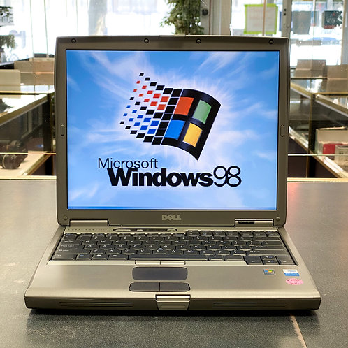 Dell D600 Laptop (1.6ghz, 40 GB Hard Drive, DVD/CD-RW/Windows 98)