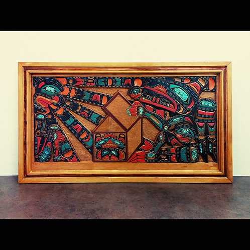 Raven Stealing The Sun By D. Hill-Kwakiutl-1992