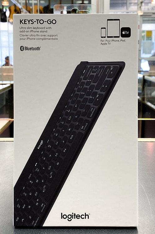 Logitech Keys-to-Go Keyboard - Black