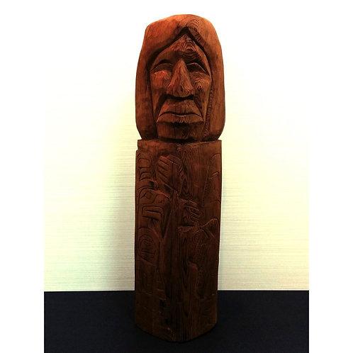 Wood Sculpture By Unknown Artist