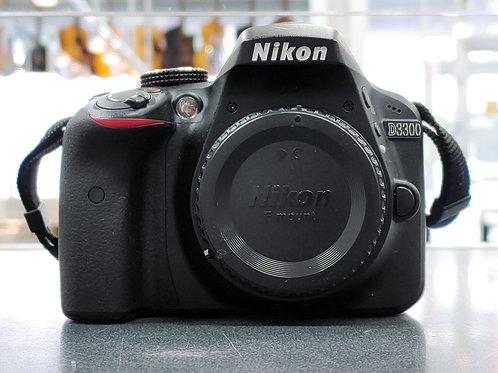 Nikon D3300 24.2 MP CMOS Digital SLR Camera Body