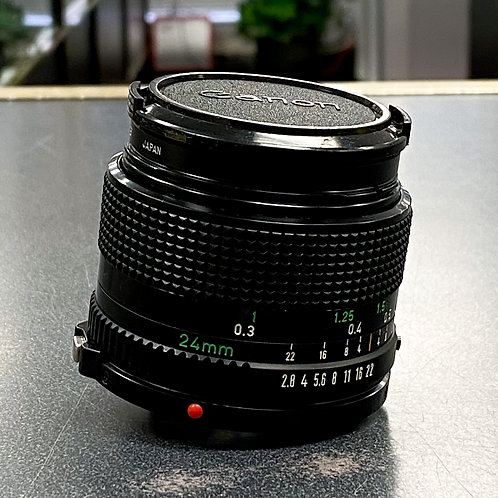 Canon FD 24mm f/2.8 Wide-AngleLens