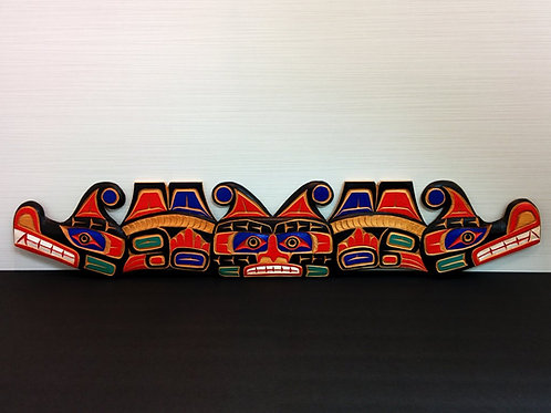 Two Headed Sea Serpent By Jimmy Joseph-Kwakiutl Alert Bay-