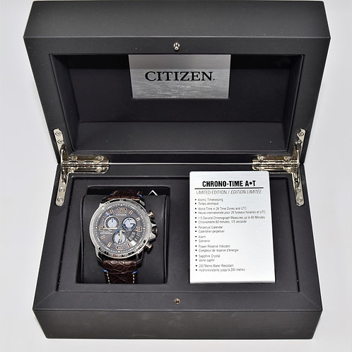 Citizen Chrono Time A-T Limited EditionStainless Steel Eco-Drive Men's Watch