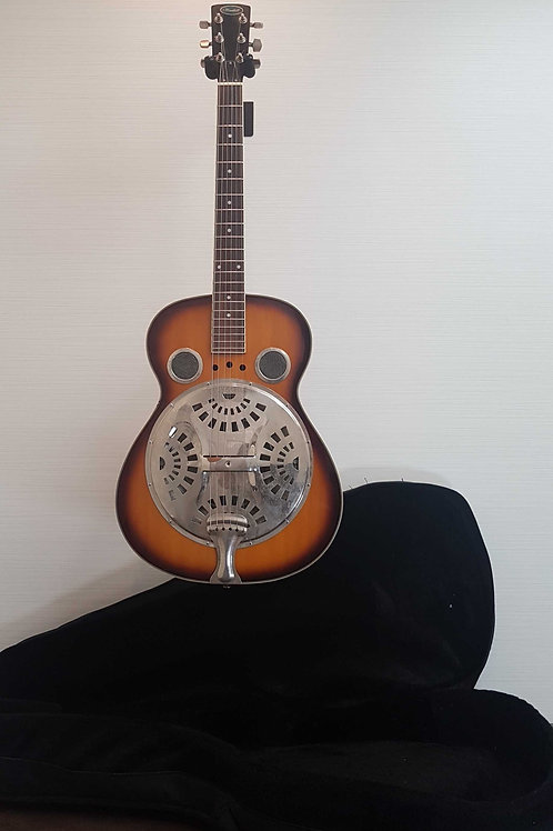 Flinthill Resonator Guitar (V.G.) with Soft Case