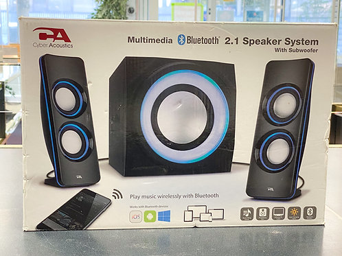 Cyber Acoustics 2.1 Channel Bluetooth Speaker System