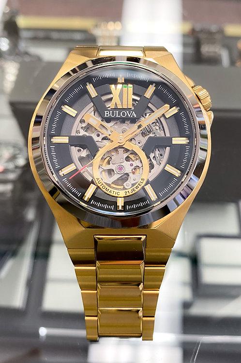 Bulova Gold Tone Stainless Steel Men's Watch