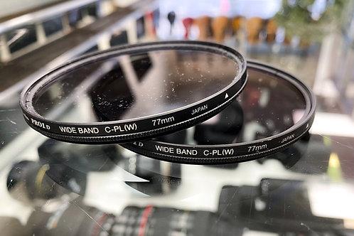 Kenko 77mm PRO1D C-PL Wideband Digital-Multi-Coated Slim Frame Lens Filter
