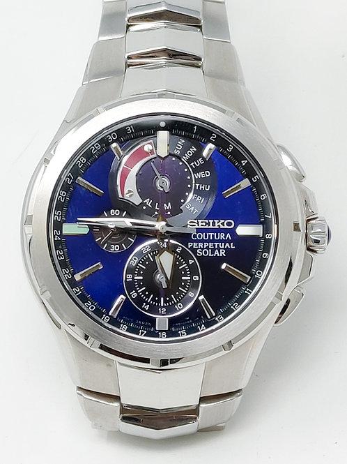 Seiko Chrono Coutura Perpetual Solar Watch