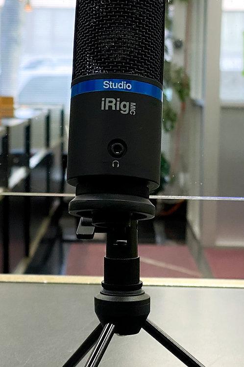 IK Multimedia iRig Mic Studio Mobile Cardioid Condenser Mic