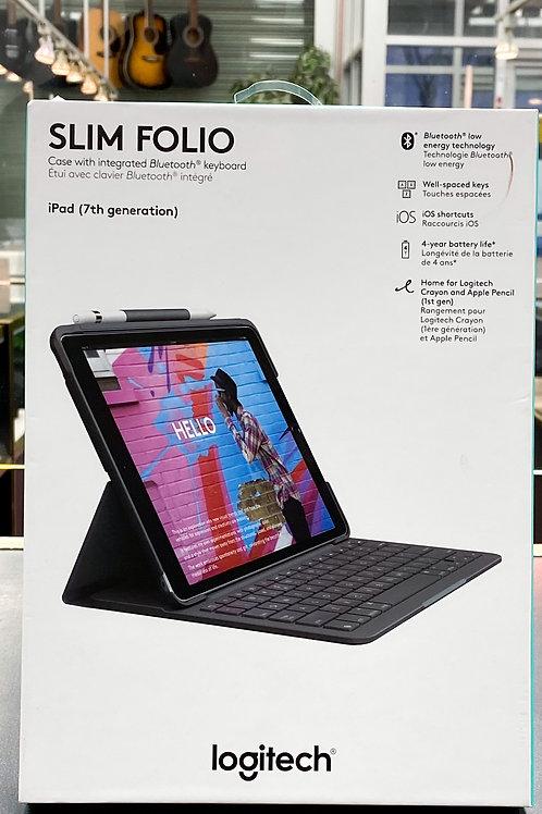 """Logitech Keyboard Slim Folio Case for iPad 10.2"""" - 920-009473"""