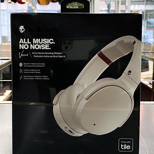 Skullcandy Venue Active Noise Canceling Wireless Over-Ear Headphones - White