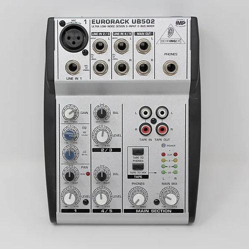 Behringer Eurorack UB502 Mixer