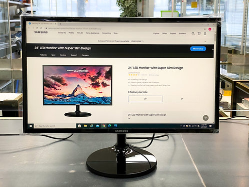 "Samsung 24"" 1080p 60Hz 4ms LED Monitor"