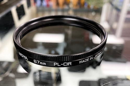 Hoya 67mm PL-CIR Polarising Filter