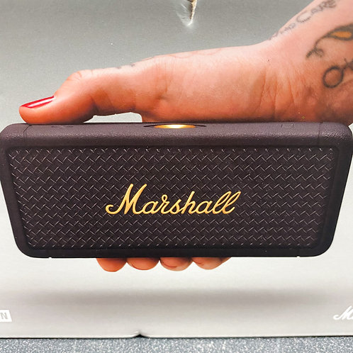 Marshall Emberton Waterproof Bluetooth Wireless Speaker