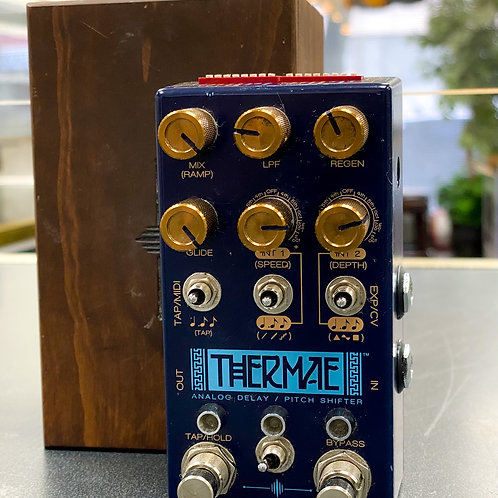 Chase Bliss Audio Thermae Analog Delay and Harmonizer Blue / Gold