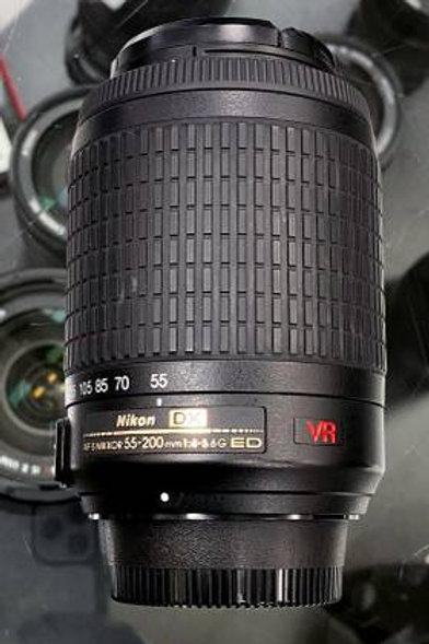 Nikon 55-200mm f/4-5.6G ED IF AF-S DX VR Lens
